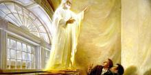 """""""Christ Appears in the Kirtland Temple"""" by Walter Rane"""