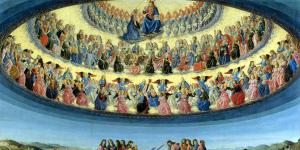 The Assumption of the Virgin (La asunción de la Virgen) por Botticini